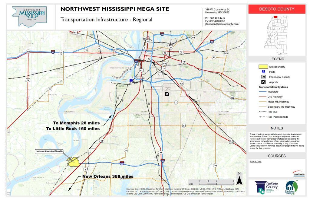 Northwest Mississippi Mega Site